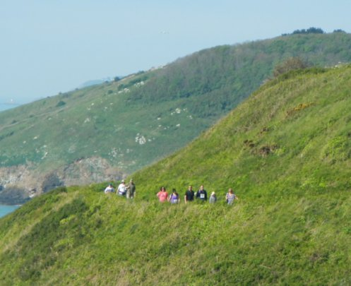 On the Herm cliff paths.JPG