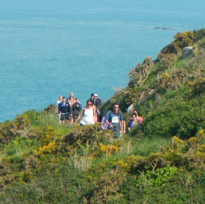 World Aid Walkers on the Herm cliff paths (1).JPG