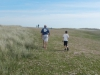Nicholas and Brandon on the daisy covered Herm common.JPG