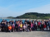 Sixty-two walkers gathered before the start of the walk.JPG