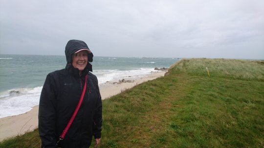 A wet and windy Herm World Aid Walk 2017 (3)